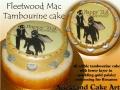 FLEETWOOD MAC cake