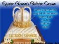 QUEEN GRACE GOLDEN CROWN