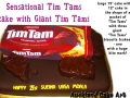 TIM TAMS COOKIE PACKET