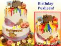 BIRTHDAY PUSHEEN