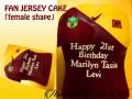 FAN JERSEY CAKE FEMALE SHAPE