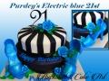 PURDEYS ELECTRIC BLUE 21ST