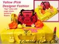 YELLOW PINK DESIGNER FASHION