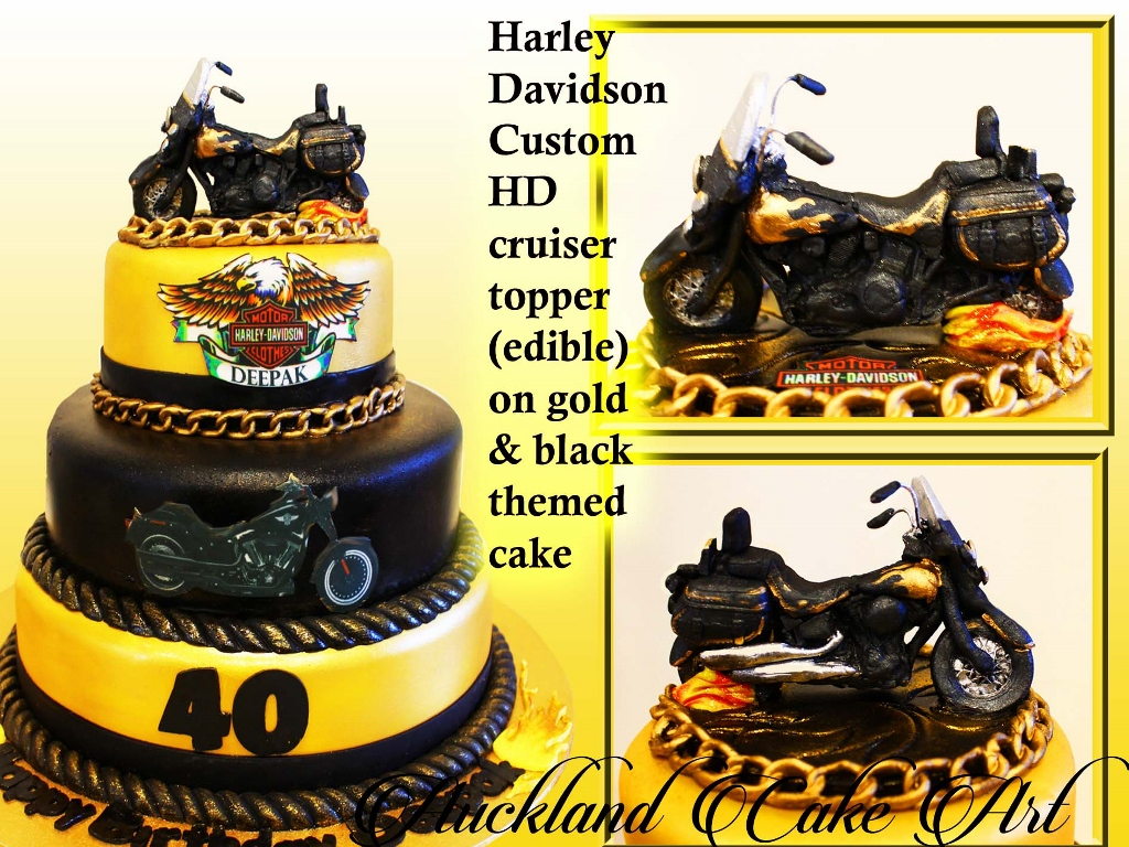 HARLEY HD CUSTOM CRUISER