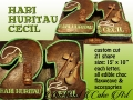21 HARI HURITAU CECIL