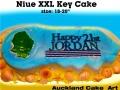 XXL 21st KEY CAKE