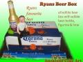 BEER BOX CAKE - CORONA