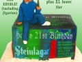 BEER BOX CAKE - STEINLAGER