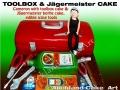 JEIGERMEISTER TOOLBOX CAKE