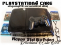 PLAYSTATION4 CAKE