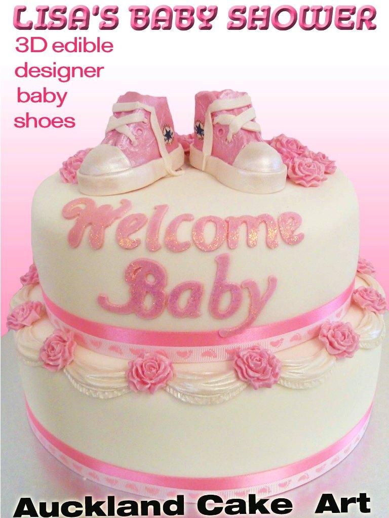 Baby Shower Cakes   Auckland Cake Art