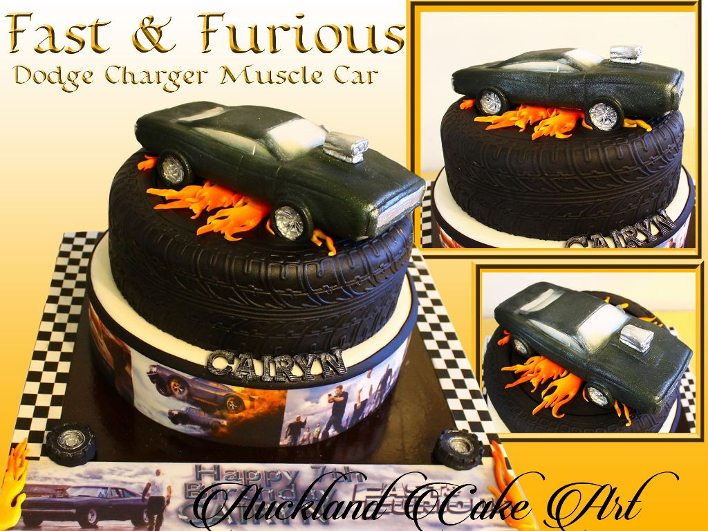 Fast And Furious Cake Designs
