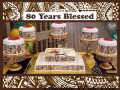 Papalii Seiuli 80 year blessed display
