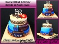 DADS HORSE RACING LEAGUE CAKE