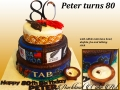 PETER TURNS 80