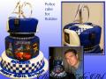 POLICE CAKE FOR ROBBIE
