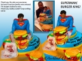 SUPERMAN BURGER KING LARGE