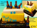 YELLOW ESKY CAKE