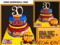 ZAIDS BASKETBALL CAKE