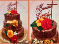70th ROSE-GOLD CAKE