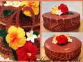 70th ROSE-GOLD GIFTING CAKES