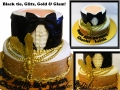 BLACK TIE GLITZ GOLD GLAM