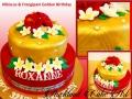HIBISCUS & FRANGIPANI GOLDEN BIRTHDAY