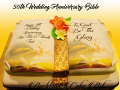 50TH WEDDING ANNIVERSARY BIBLE
