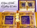 OPEN BIBLE GIFTING CAKES