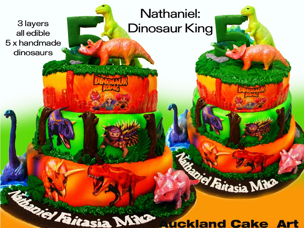 Dinosaur Cake Decorations Nz : Dinosaur King Birthday Cake ~ Image Inspiration of Cake ...