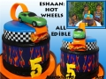 ESHAAN'S HOT WHEELS