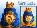 GOLDEN PRINCE WITH MONOGRAM