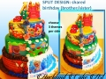 SPLIT DESIGN SHARED BIRTHDAY