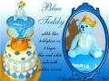 BLUE TEDDYBEAR