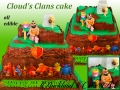 CLOUDS CLANS CAKE