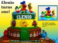 ELENIO TURNS ONE