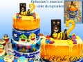 EPHESIANS MUSICAL CAKE AND CUPCAKES