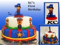 KC'S FIRST BIRTHDAY