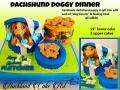 Dachshund doggy dinner
