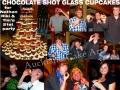 CHOCOLATE SHOT GLASS CUPCAKES
