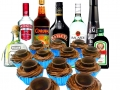 CHOCOLATE SHOT GLASS CUPCAKES