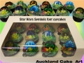 STAR WARS FONT CUPCAKES