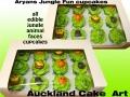 JUNGLE CUPCAKES 3D
