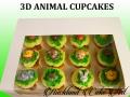 3D ANIMAL CUPCAKES
