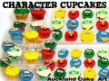 CHARACTER CUPCAKES 3D