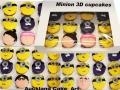 MINION CUPCAKES 3D