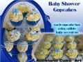 BOY BABY SHOWER CUPCAKES
