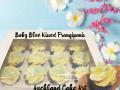 BABY BLUE KISSED FRANGIPANIS