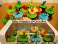 BABY DINOSAUR CUPCAKES