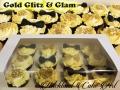 GOLD GLITZ & GLAM CUPCAKES